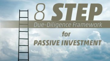 Eight Step Due Diligence Framework For Passive Investing