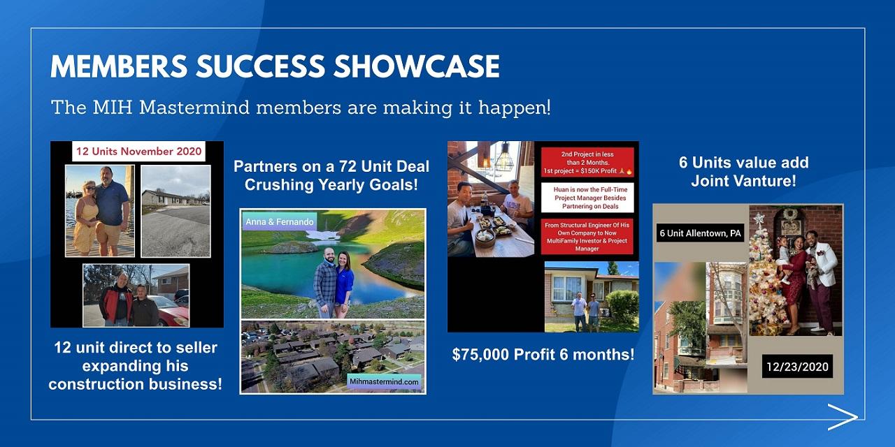 Member Success Showcase